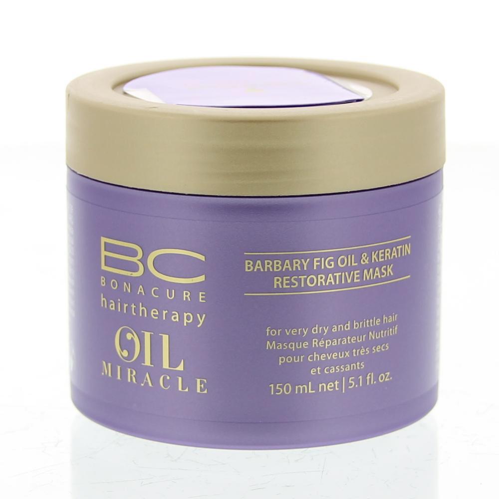 Schwarzkopf BonaCure Oil Miracle Barbary Fig&Keratin Restorative Mask Masker Zeer Droog/Breekbaar Haar