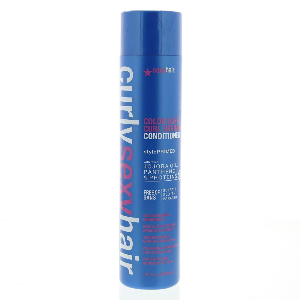 Sexy Hair Curly Sexy Hair Color Safe Curl Defining Conditioner  Gekruld Haar