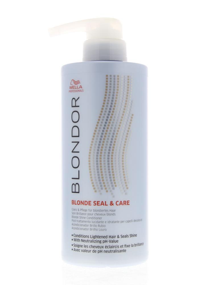 Wella Professionals Blondor Blonde Seal&Care Conditioner Verzorging 500ml