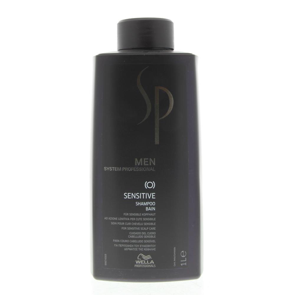 Wella SP Men Sensitive Shampoo  Gevoelige Hoofdhuid 1000ml