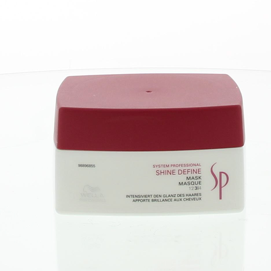 Wella SP Shine Define Mask Masker Dof Haar