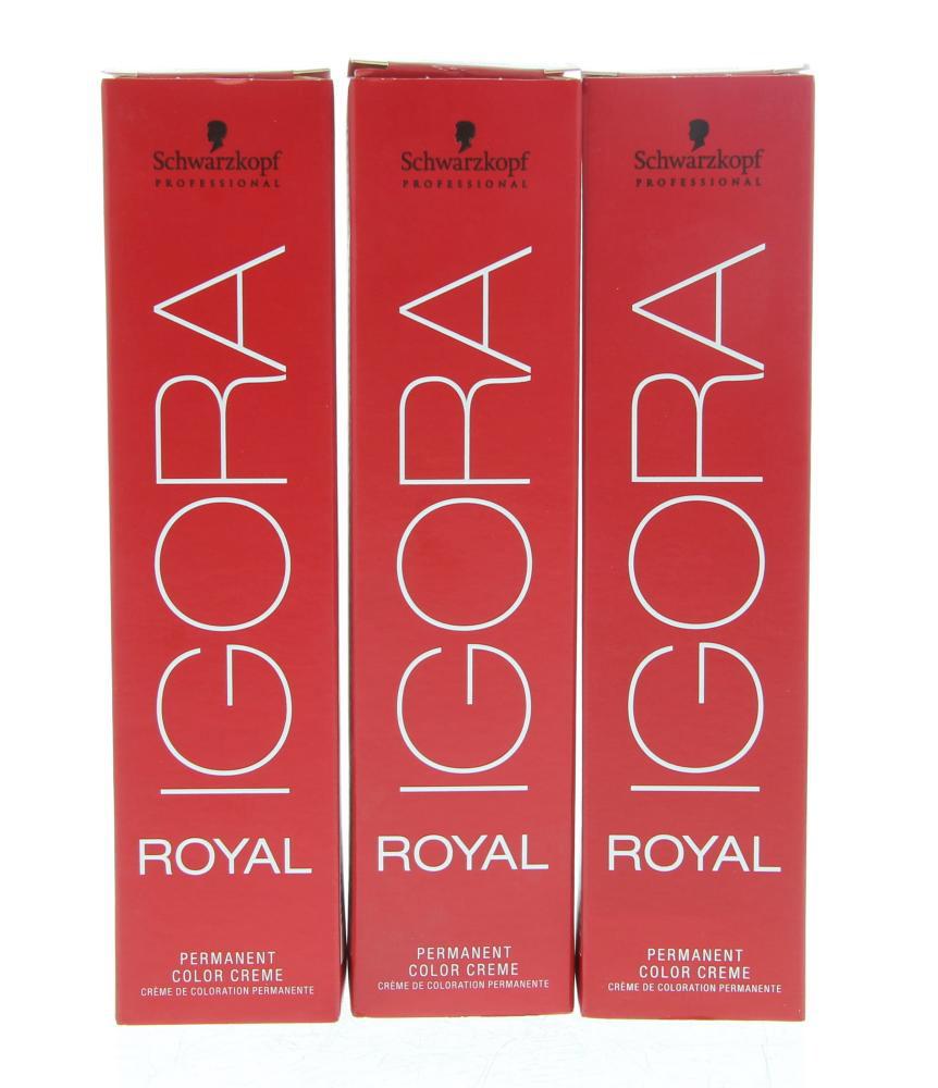 Schwarzkopf Professional Igora Royal Permanent Color Creme Haarverf 6-00 60ml