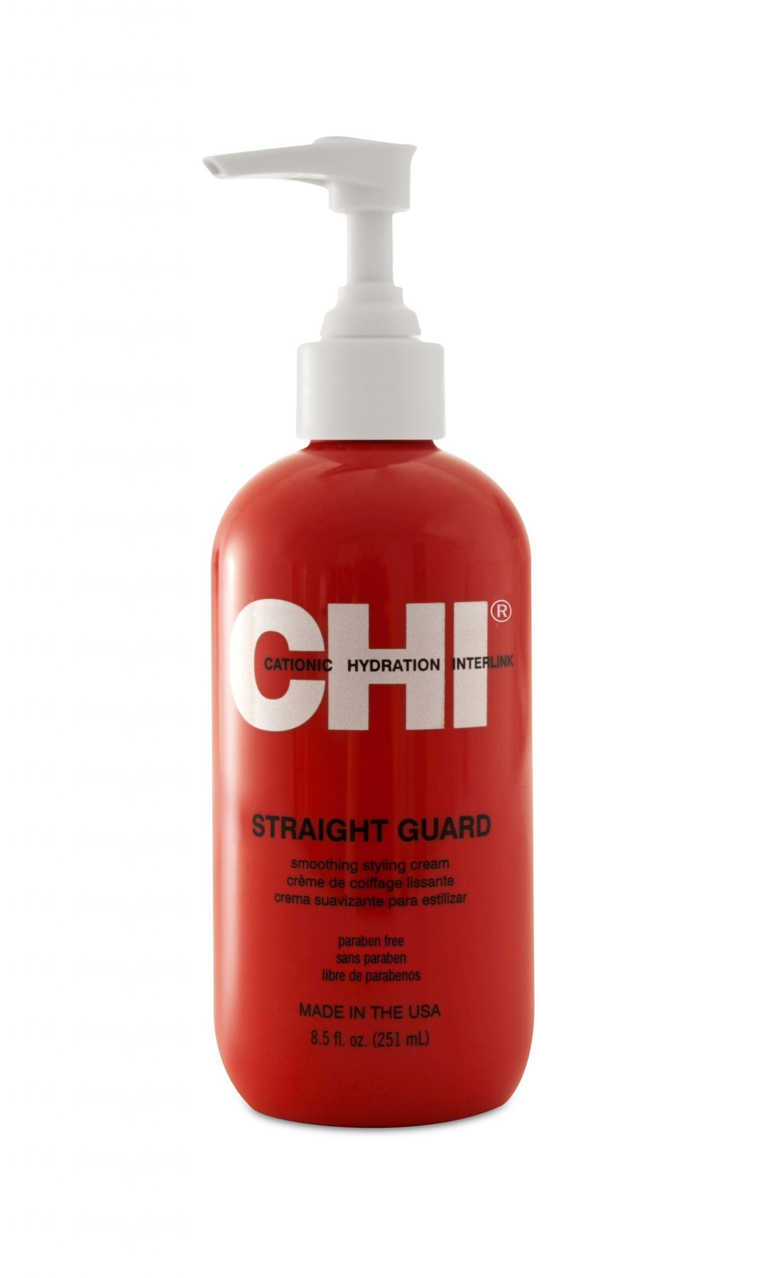 CHI Style Straight Guard Crème Smoothing Styling Cream 251ml